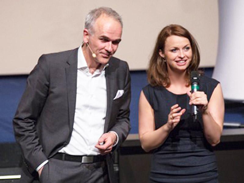 Unterhaltsame Moderation von Johanna Höpker Eventmoderatorin