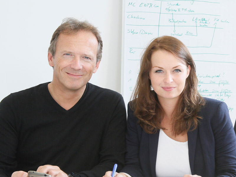 Coaching mit Johanna Höpker, Oliver Tissot Frau